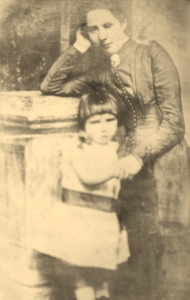 Bella, in happier times, with her daughter, Susan