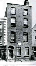 85 Upper Dorset Street where the Casey family lived; it is now demolished